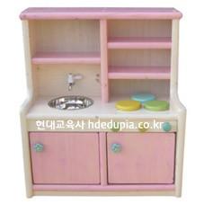 친환경다용도주방놀이(소)-분홍