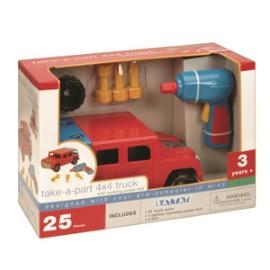 [밧핫] 4*4 트럭 공구놀이 세트 (25pcs)