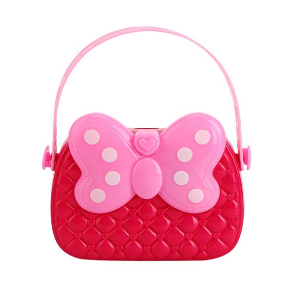 플레이 핑크리본가방