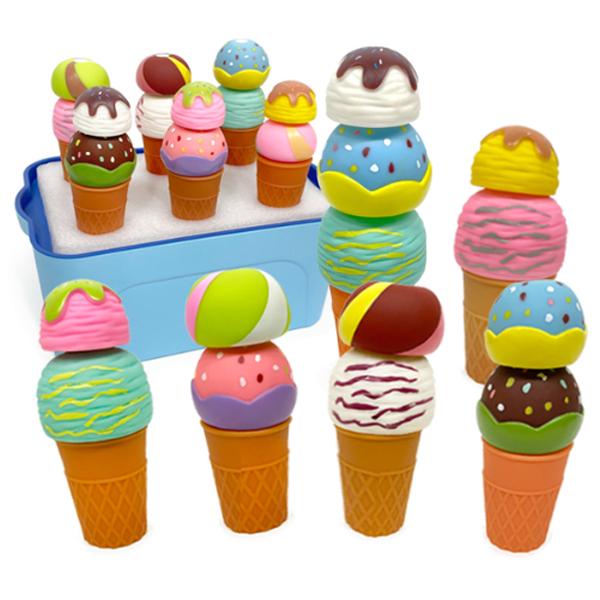 소프트 자석 스노우볼 아이스크림 (소프트아이스크림B형)